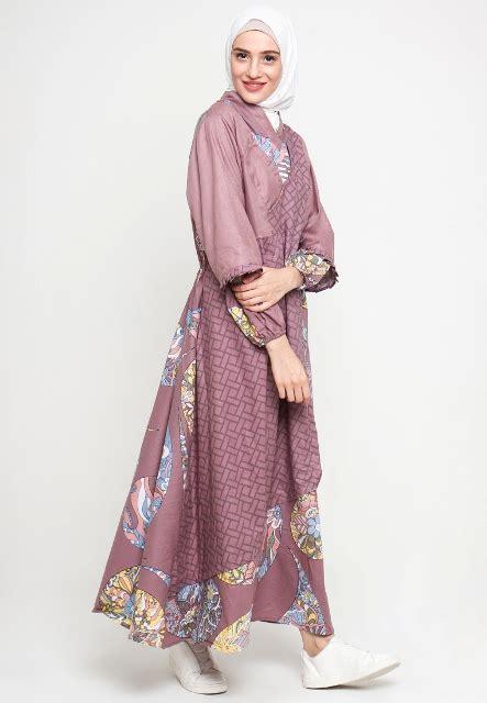 17  Model Baju Batik Muslim 2018 Untuk Remaja Muslimah