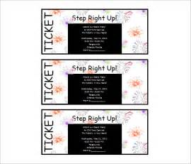 Microsoft Word Ticket Template by 50 Microsoft Invitation Templates Free Sles