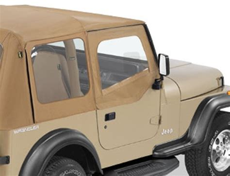 Jeep Soft Doors by Bestop Soft Doors For Jeep Wrangler 1988 1995