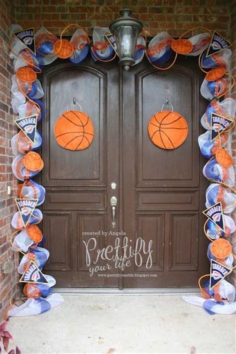 okc thunder room decor 17 best images about senior ideas 4 basketball on locker decorations