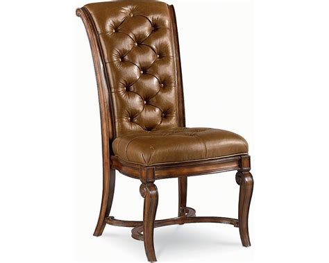 Thomasville Dining Room Chairs Leather Side Chair Dining Room Furniture Thomasville Furniture