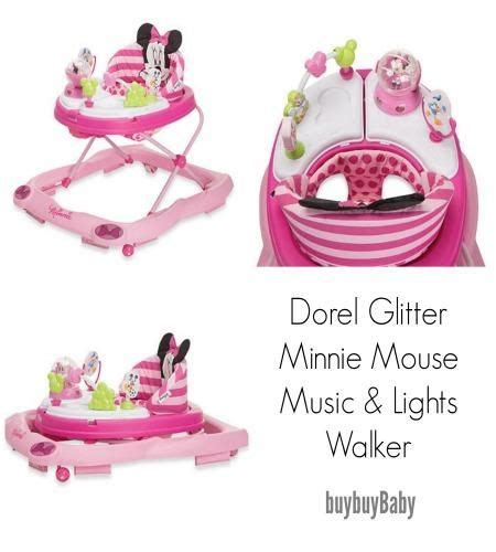 disney music and lights walker all about our glitter minnie mouse music lights walker