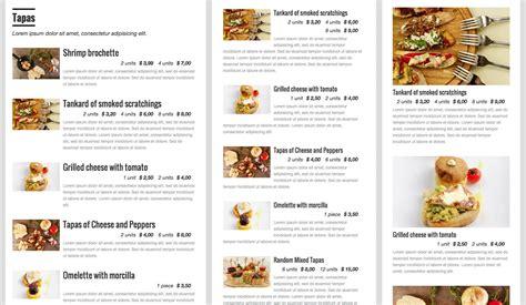 restaurant menu restaurant menu plugins