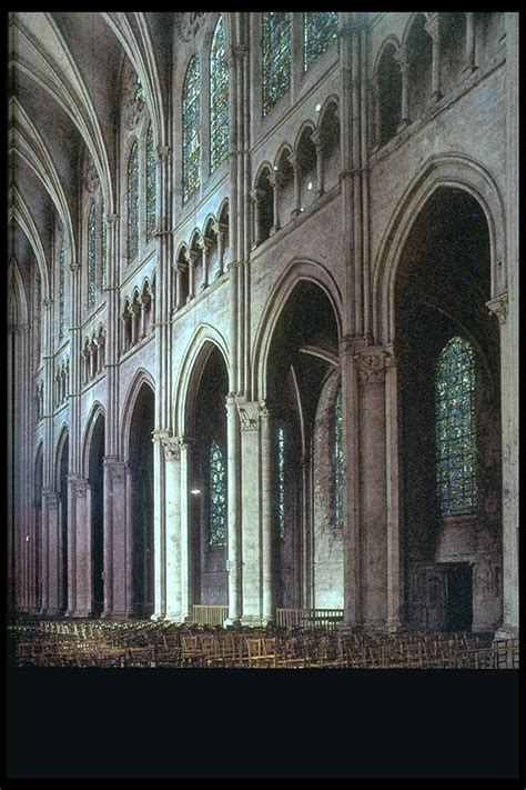 Chartres Cathedral Interior by Mega