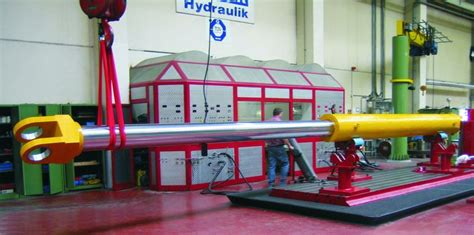 hydraulic cylinder test bench hunger hydraulik quality assurance and test procedure