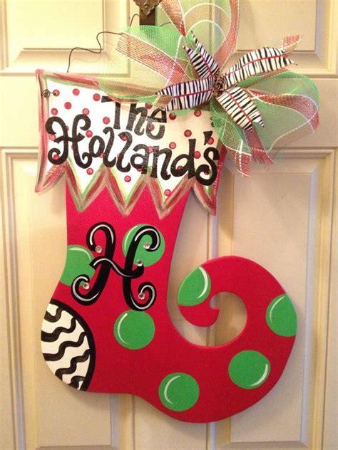decoration hangers homemade christmas door hanger decoration ideas