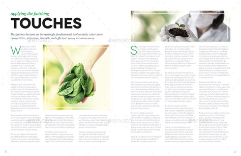 layout v14 magazine template indesign 24 page layout v14 by
