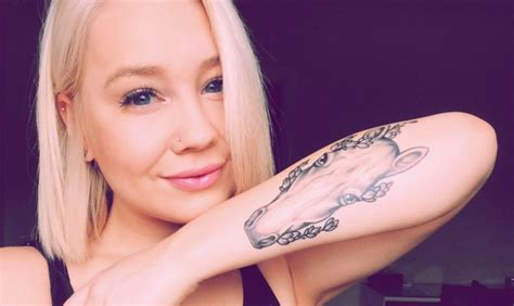 tattoo new lynn raelynn fibbed to her husband about getting her new tattoo