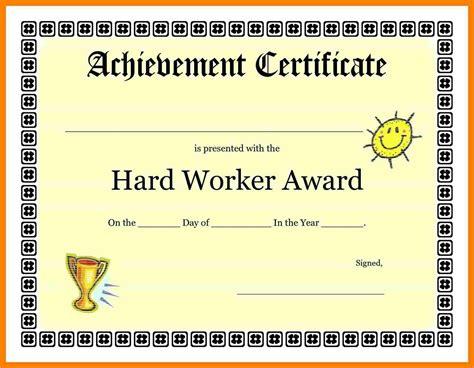 5 good job certificate fancy resume