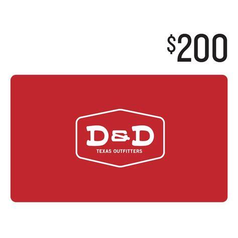 d d 200 gift card - 200 Gift Card
