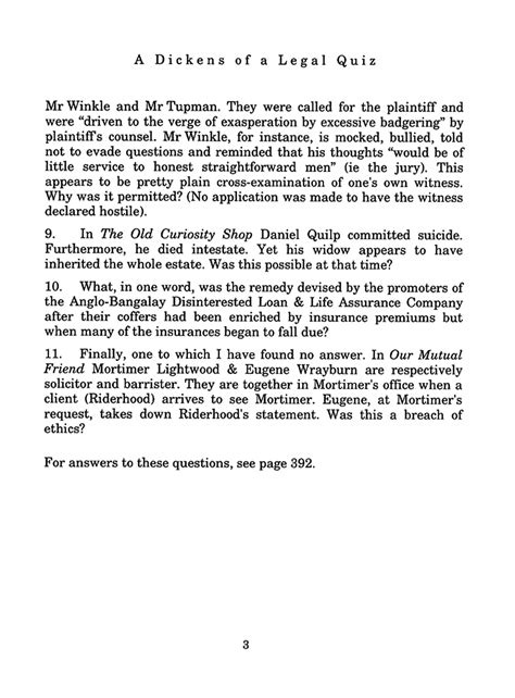 charles dickens biography quiz esther m zimmer lederberg charles dickens quiz page 3