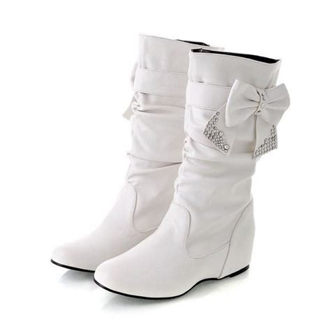 white boots white winter boots wedding galore