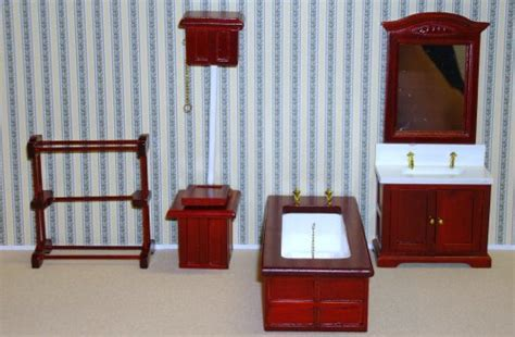 Streets Ahead Dolls House Bathroom Furniture Dolls House Review Compare Prices Buy