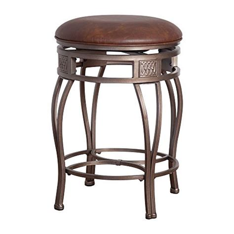 hillsdale montello backless bar stools hillsdale montello backless swivel bar stool