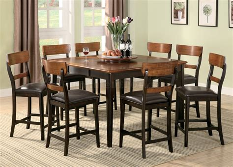 coaster counter height table and chairs 102198 franklin counter height dining table by coaster w
