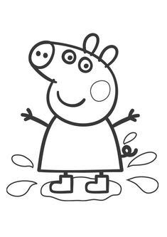peppa pig valentines coloring page printables on pinterest potty charts peppa pig and