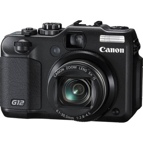 canon g12 used canon powershot g12 digital 4342b001 b h photo