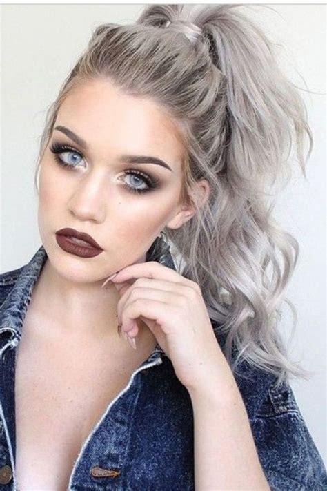 Virtual Hairstyles Gray Hair | best 25 grey blonde ideas on pinterest grey blonde hair
