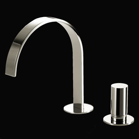 Lacava Faucet by Lacava 13010 Cr Arch Deck Mount Two Faucet 13010 Cr