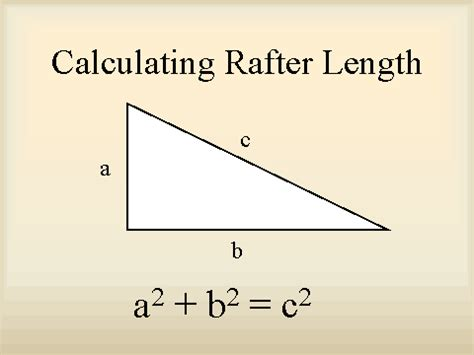 calculating rafter length