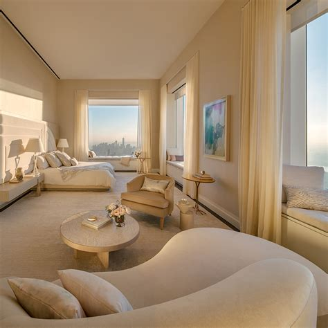 boom interieur inside the highest completed penthouse in new york city by