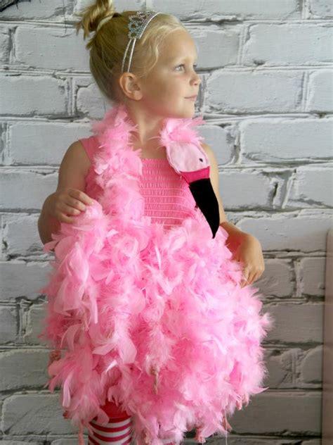 pink flamingo halloween costume  tos diy