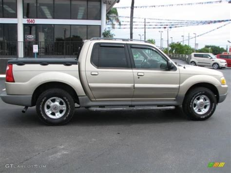 2002 Ford Explorer Sport Trac by Harvest Gold Metallic 2002 Ford Explorer Sport Trac