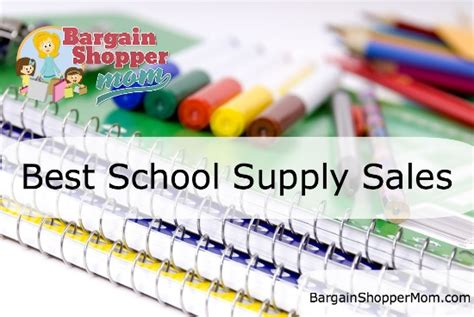 back to school supplies sale school supply sales back to school best prices week of