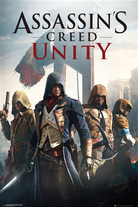 unity assassins creed book 1405918845 assassin s creed unity cover poster sold at europosters