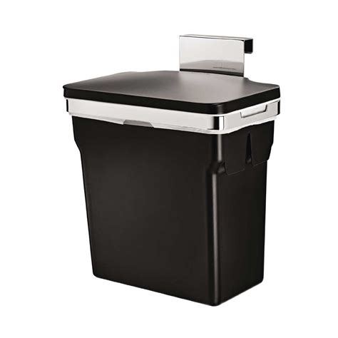 kitchen cabinet with trash bin gallon in cabinet trash can hanging cabinet mount waste