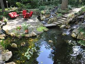 what size koi pond should i design for my yard turpin