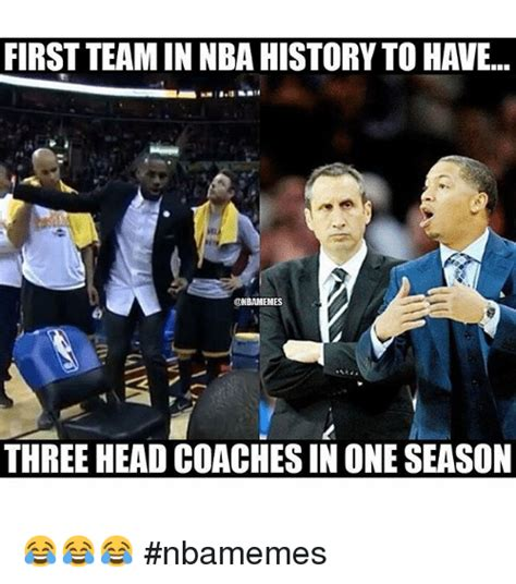 first facts seasons 1409375773 first team in nba history to have onbamemes three headcoachesin one season nbamemes