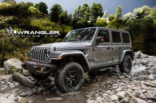 Jeep Wrangler Unlimited 2018 Jeep Wrangler Unlimited Previewed In Unofficial