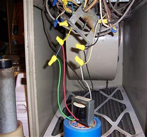 furnace transformer wiring diagram wiring power transformer to furnace