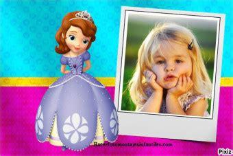 decorar fotos talisman decorar fotos con la princesita sofia fotomontajes