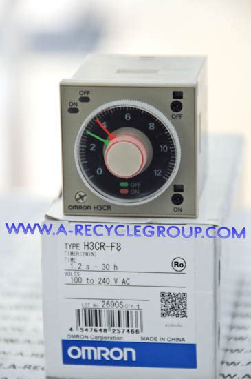 Omron Timer H3cr F8 Timer omron solid state timer h3cr f8 omron h3cr f8 timer