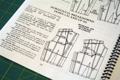 pattern shifting method of grading indie pattern company dixie diy