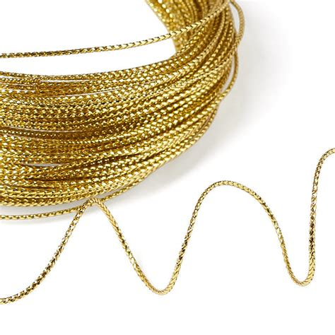 gold bowdabra bow wire wire rope string basic