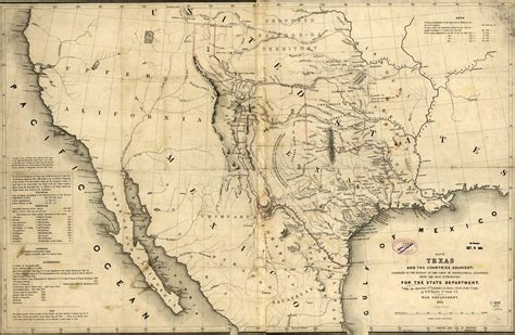 republic of texas map republic of texas map 1846