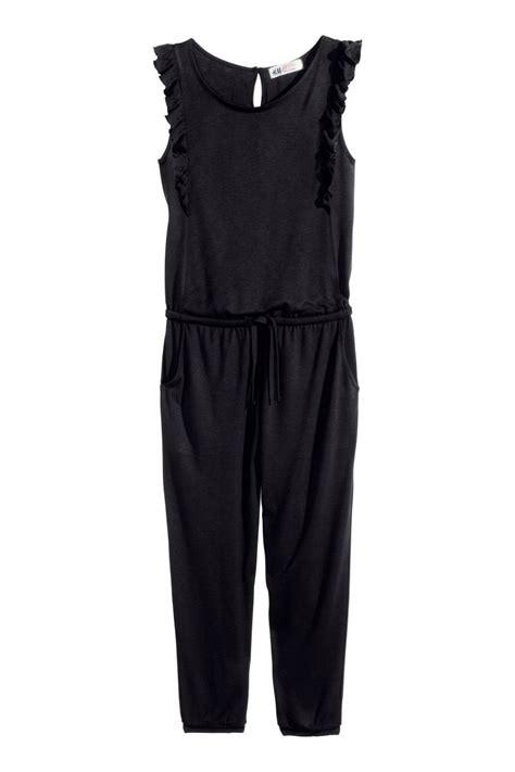 Hm Jumpsuit Ballo Fit L jumpsuit black sale h m us