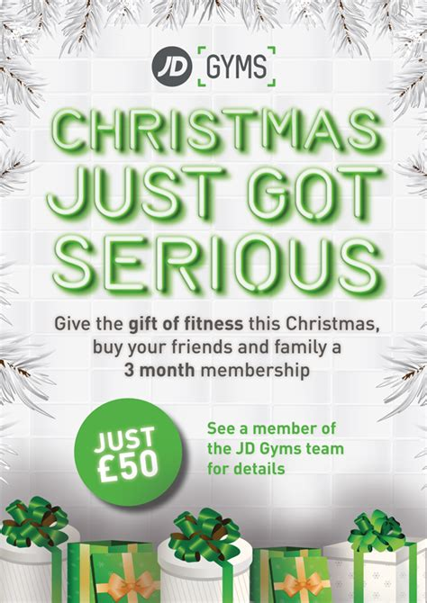 give  gift  fitness  christmas jd gyms