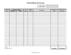 10 excel mileage log templates excel templates