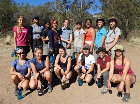 nmsu gals program empowered teenage girls  backpacking trip article nmsu news center