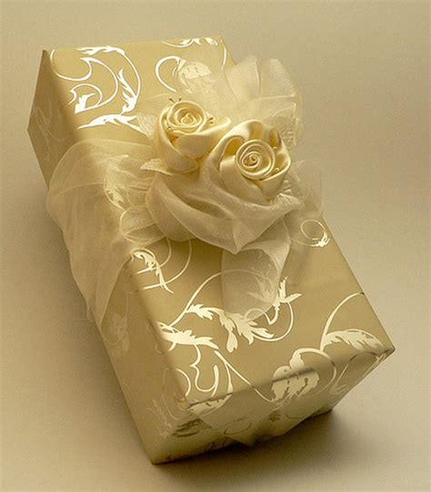 Wedding Gift Wrapping Ideas by Impressive Gift Package Design Inspiration For