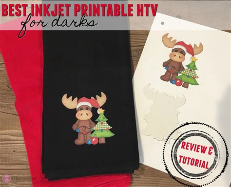 best printable vinyl finally inkjet printable heat transfer material for
