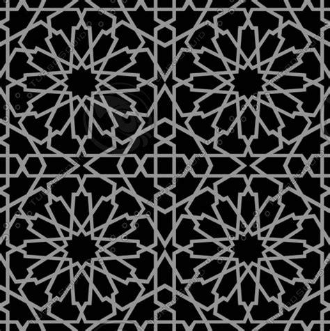 arabesque pattern autocad tileable decorative grid 3d 3ds