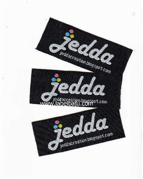 design label murah label baju merk distro butik tas hang tag