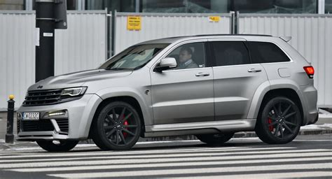 Str8 Jeep Jeep Grand Srt8 Quot Tyrannos Quot Makes For Sighting