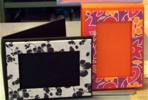 How To Make Photo Frames With Handmade Paper - picture this handmade frames