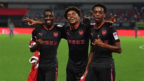 arsenal youngsters youngsters have shown personality and quality arsenal